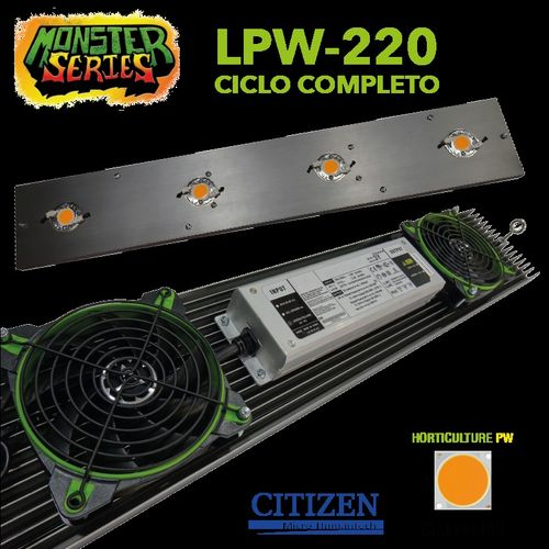 LED Linear 220w horticulture LPW